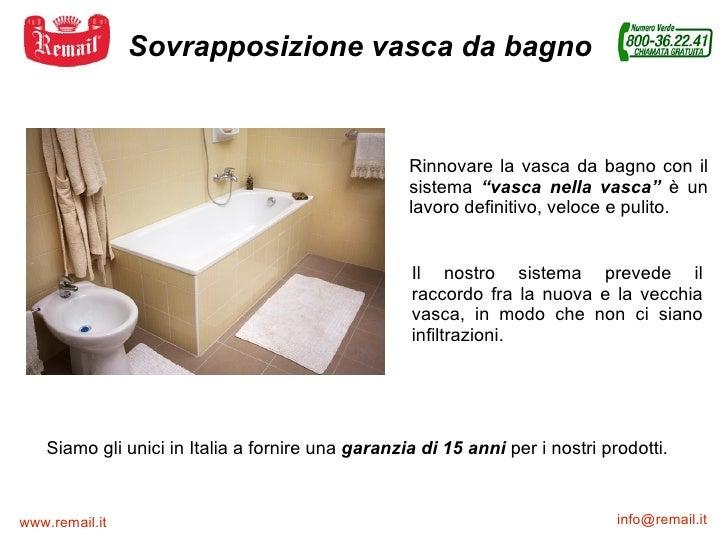 Sovrapposizione vasca remail vasca nella vasca - Sovrapposizione piastrelle bagno ...