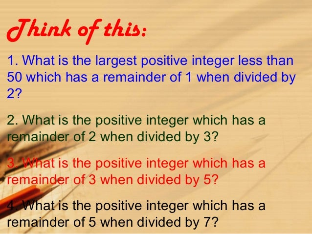 a divided by b_Remainder theorem