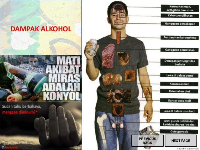 DAMPAK ALKOHOL PREVIOUS BACK NEXT PAGE