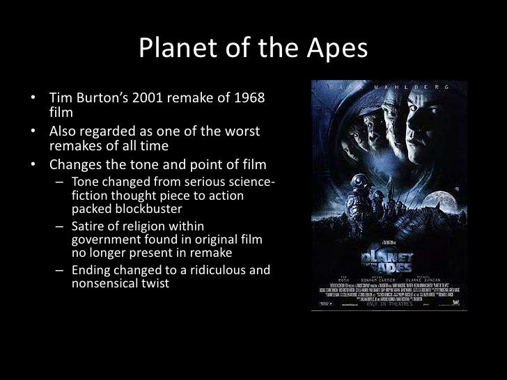 planet of the apes essay questions How could i write an essay on rise of the planet apes  rise of the planet of apes  i think this question violates the community guidelines.
