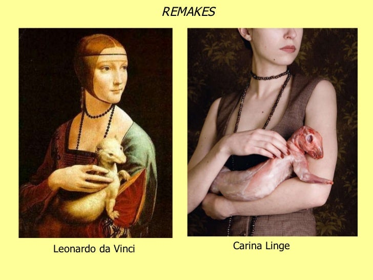 Leonardo da Vinci Carina Linge REMAKES