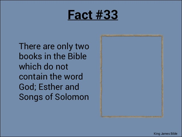 interesting facts about the bible pdf