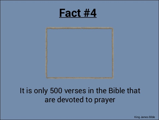 134 Amazing Facts of King James Bible That You Might Never Know. You …