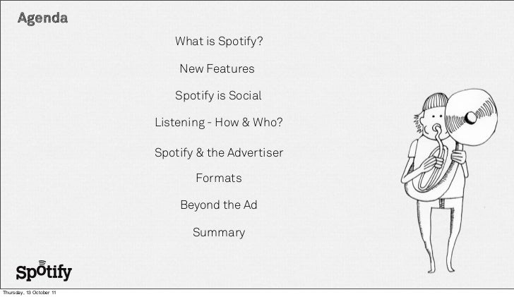 A Spotify Presentation - Case studies Slide 2