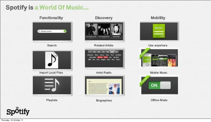 case study spotify Spotify is a music streaming service that gives access to millions of songs and other content from artists all over the world spotify wants to improve the engagement of their users.
