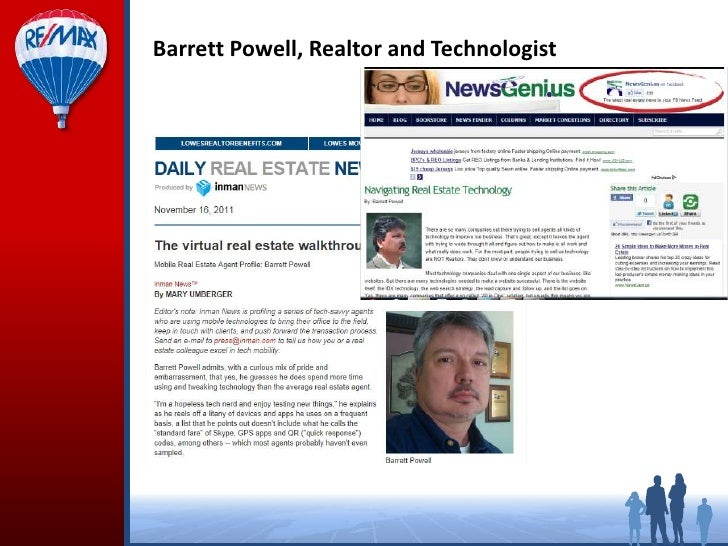 Barrett Powell, Realtor and Technologist