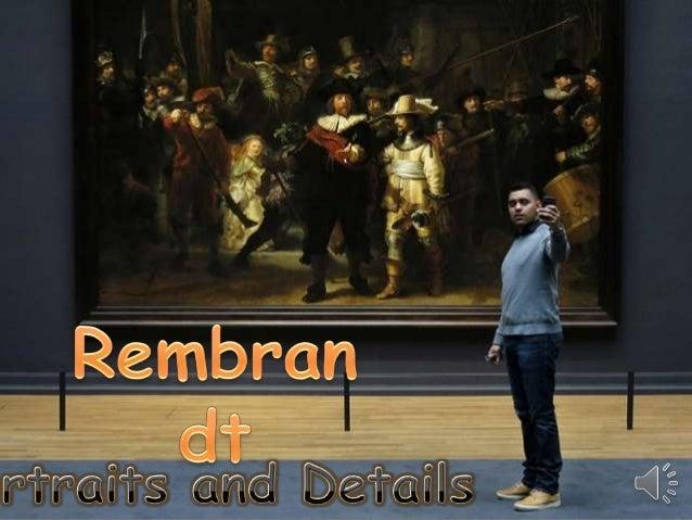 Rembrandt, portraits and details (v.m.)