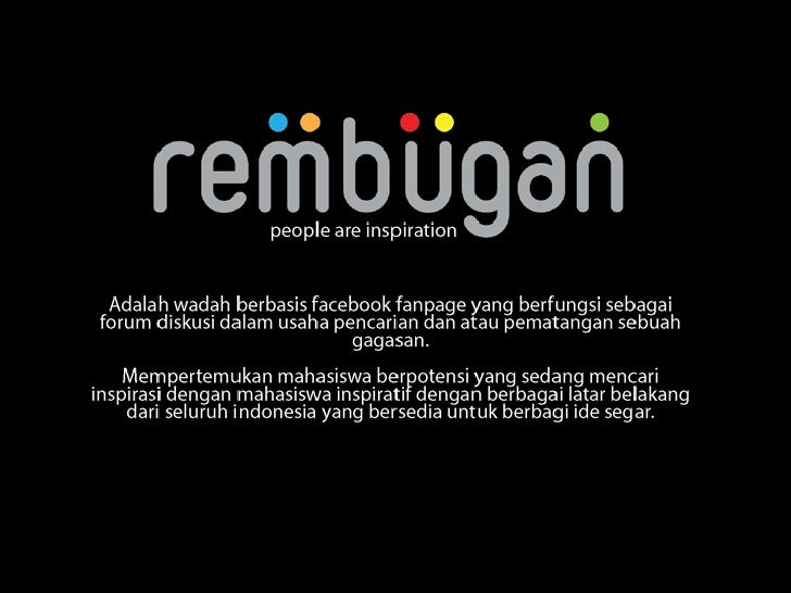 Rembugan (digital campaign)