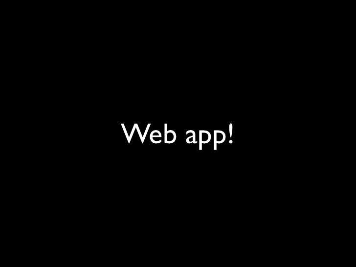 """Web 2.0 iPhone App"" Steve Jobs at WWDC 2007"
