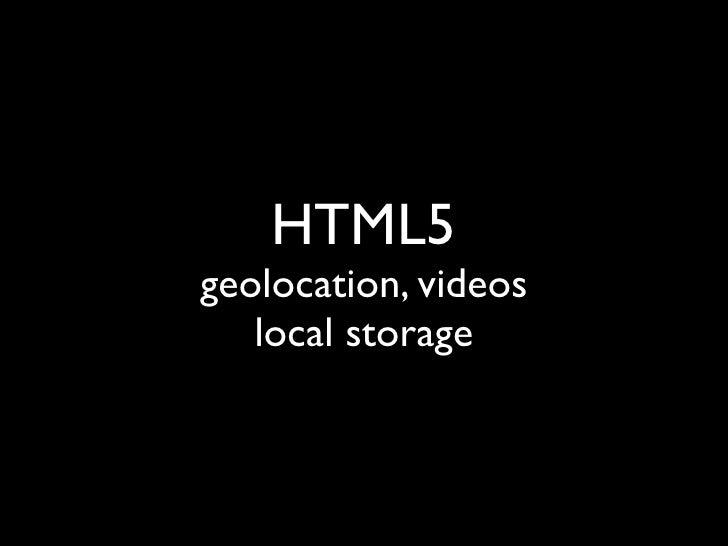 micro Web app = 2009