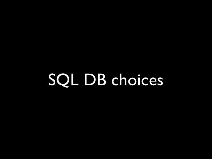 SQLite: best for desktop apps