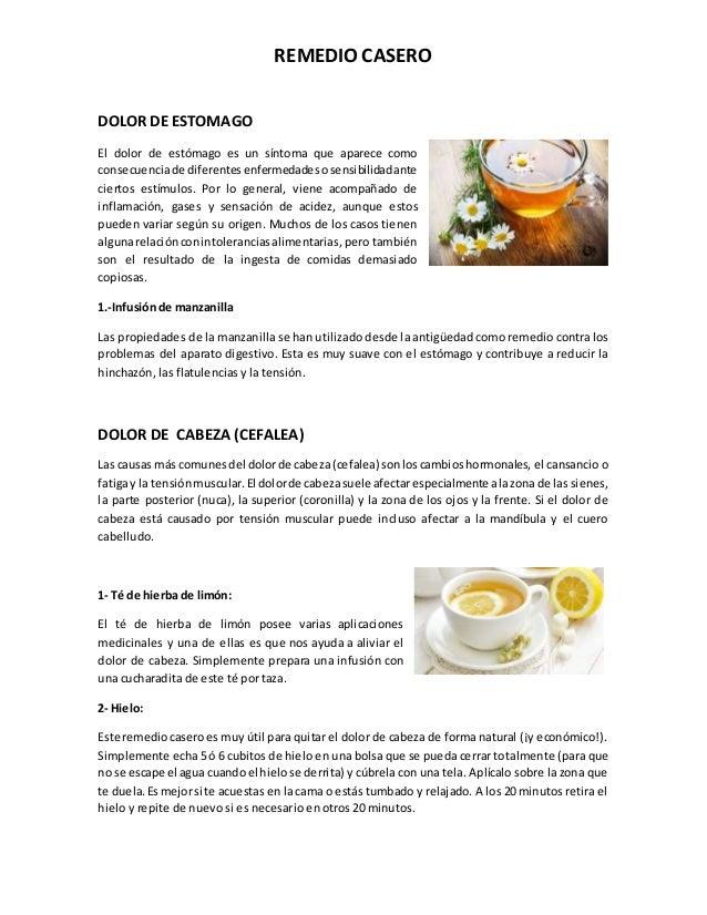 Remedio Casero