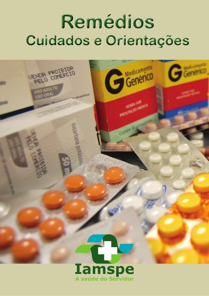 RemédiosCuidados e Orientações