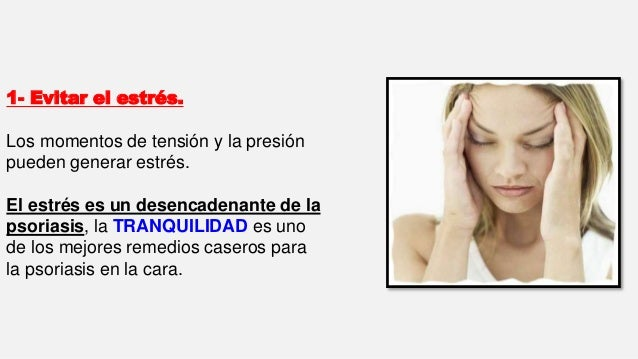 Remedios caseros para la psoriasis en la cara! Slide 2