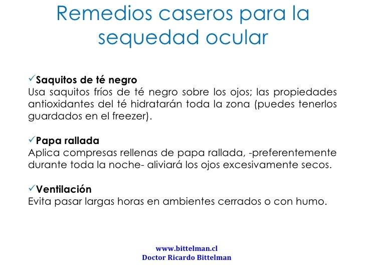 Remedios caseros para sequedad ocular - Remedios caseros para la humedad ...