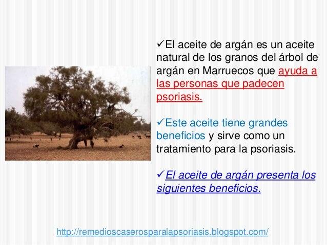 Remedios naturales para la psorasis - El aceite de argan para la psoriasis Slide 2