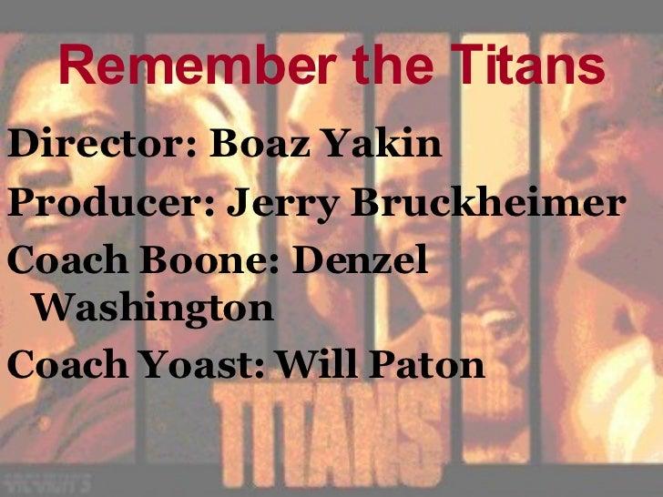 remember the titans friendship theme