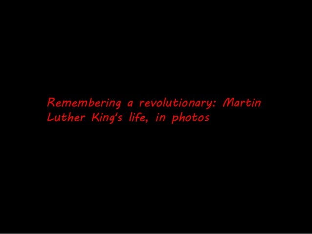 Remembering a Revolutionary: Martin Luther King's life in photos Slide 2