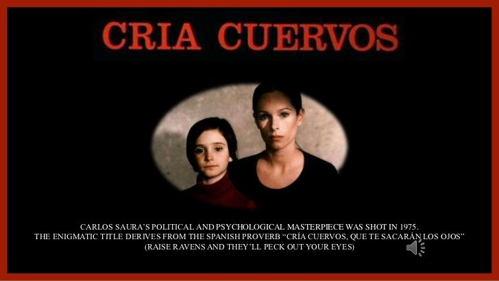 CARLOS SAURA'S POLITICAL AND PSYCHOLOGICAL MASTERPIECE WAS SHOT IN 1975.<br />THE ENIGMATIC TITLE DERIVES FROM THE SPANISH...