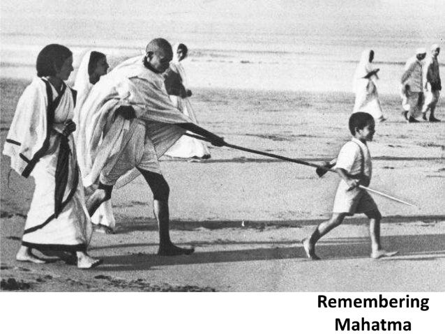 Remembering  Mahatma
