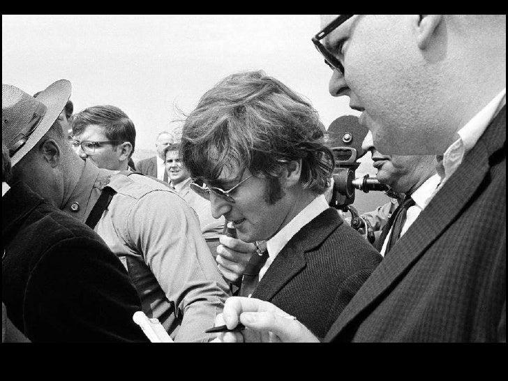 Remembering John Lennon Slide 23