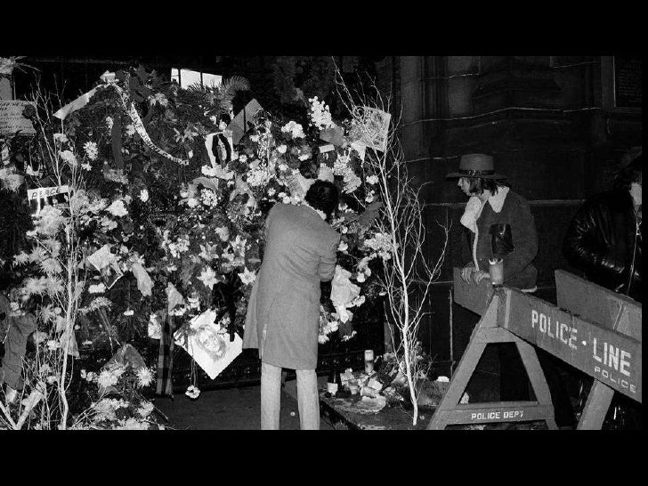 Remembering John Lennon Slide 40