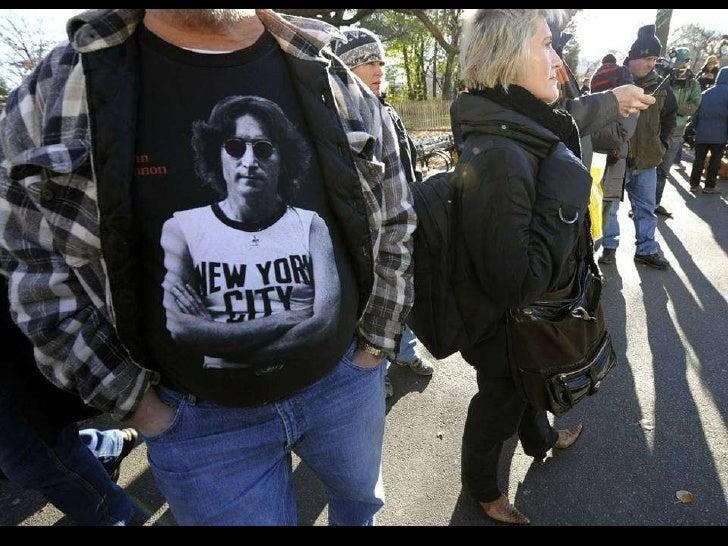 Remembering John Lennon Slide 55