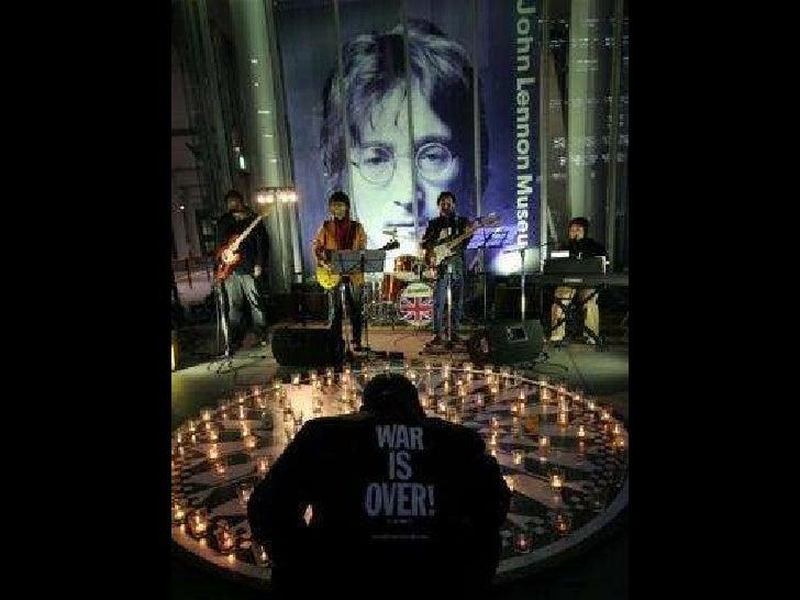 Remembering John Lennon Slide 61