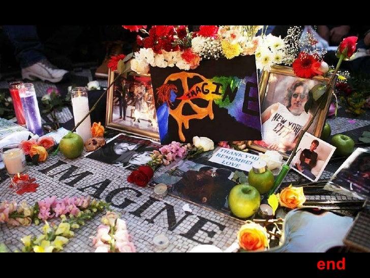 Remembering John Lennon Slide 70