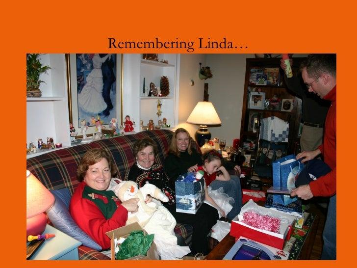 Remembering Linda…