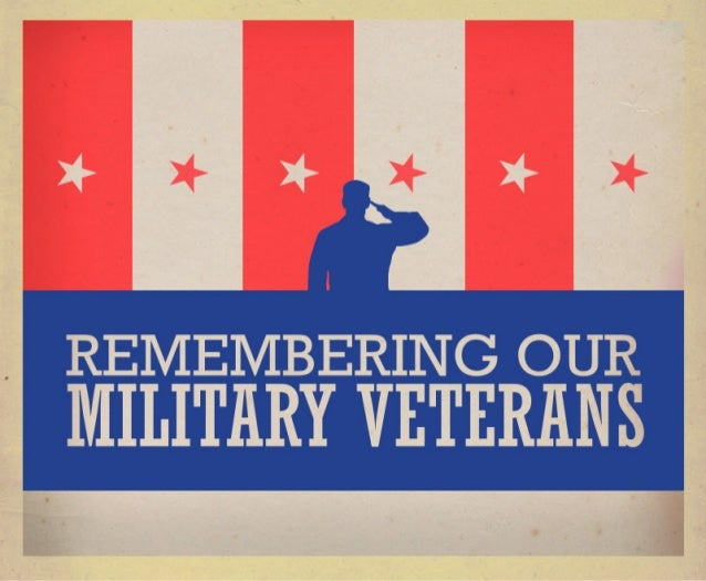 Our nation's military veterans have sacrificed  their lives for our country. There are many ways  to commemorate their eff...