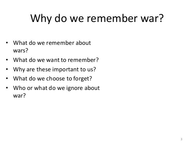 """why do we remember past wars If today we have forgotten metacom, tomorrow we will forget the shoah, rieff daringly suggests, and indeed the holocaust receives a great deal of attention in rieff's pages, as do the balkan wars, northern ireland's """"troubles,"""" and 9/11 what links such affairs — here the author moves into far more."""