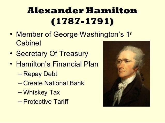 alexander hamiltons financial plan essay
