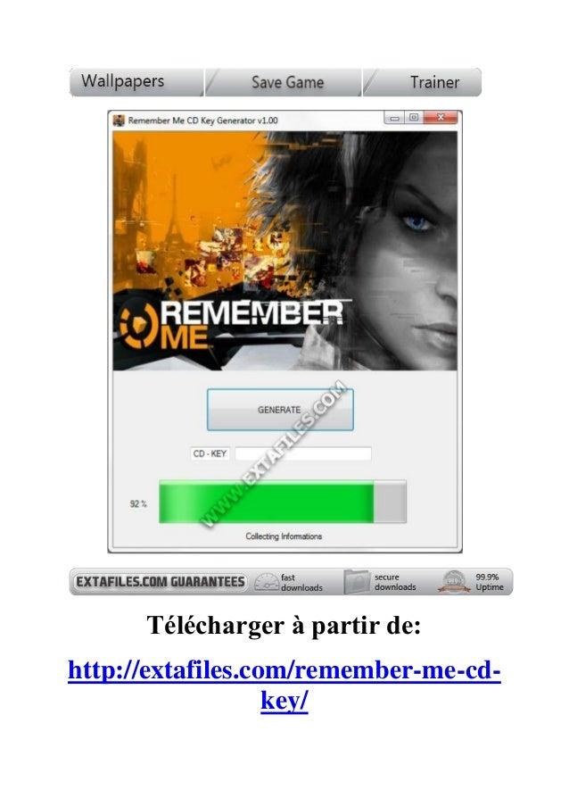 Télécharger à partir de:http://extafiles.com/remember-me-cd-key/