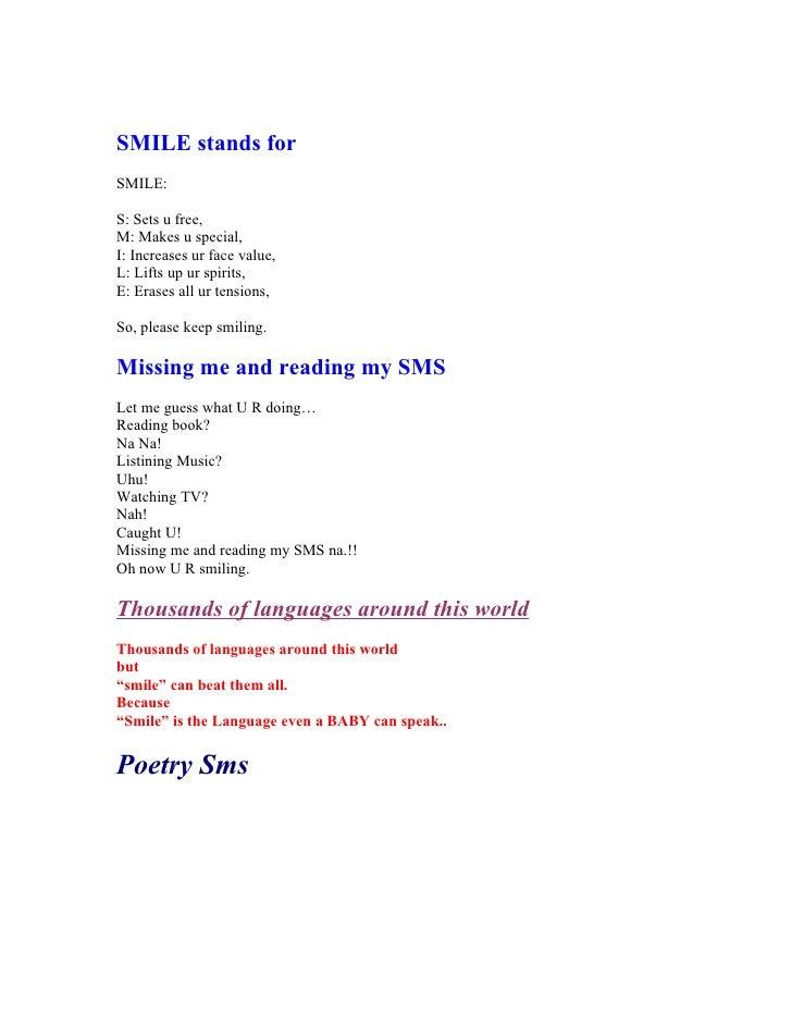 Sms Book