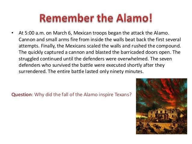 Remember The Alamo Webquest