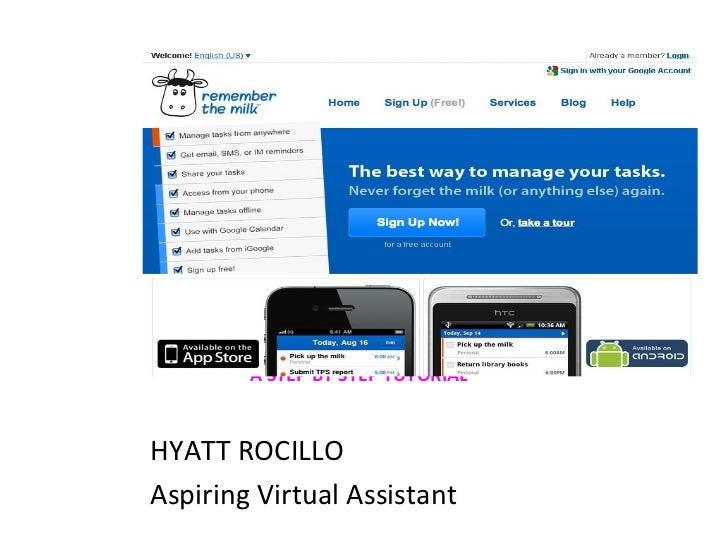 A STEP BY STEP TUTORIAL <ul><li>HYATT ROCILLO </li></ul><ul><li>Aspiring Virtual Assistant </li></ul>