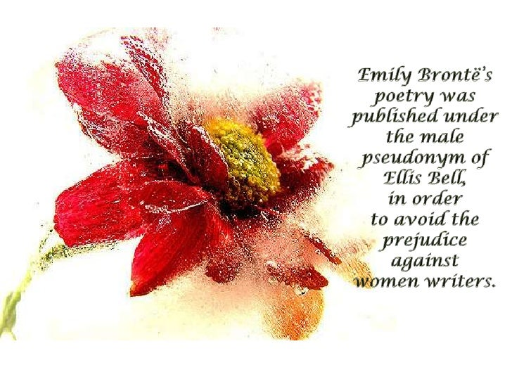 remembrance by emily bronte essay Essay writing guide remembrance by emily bronte is an elegy and contains a lot of negative imagery.