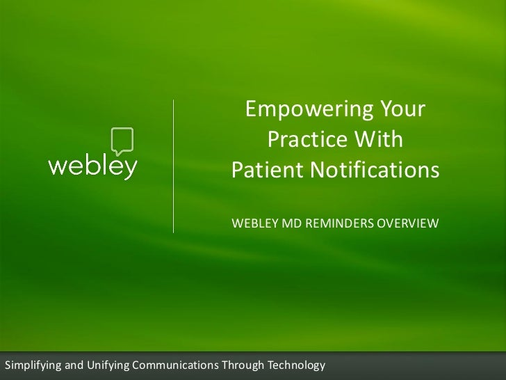 Empowering Your                                           Practice With                                        Patient Not...