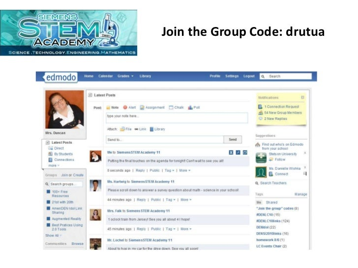 Join the Group Code: drutua<br />