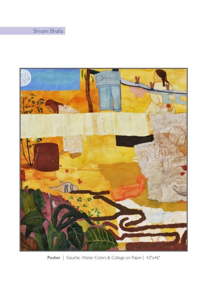 "B.V. SwethaThe Red Curve | Medium Textile, Embroidery, Acrylic Colour on Canvas | 36""x36"""