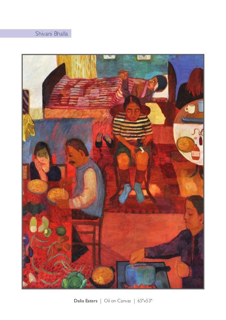 "Shivani Bhalla          My Sisters Birthday Party | Oil on Canvas | 60""x72"""