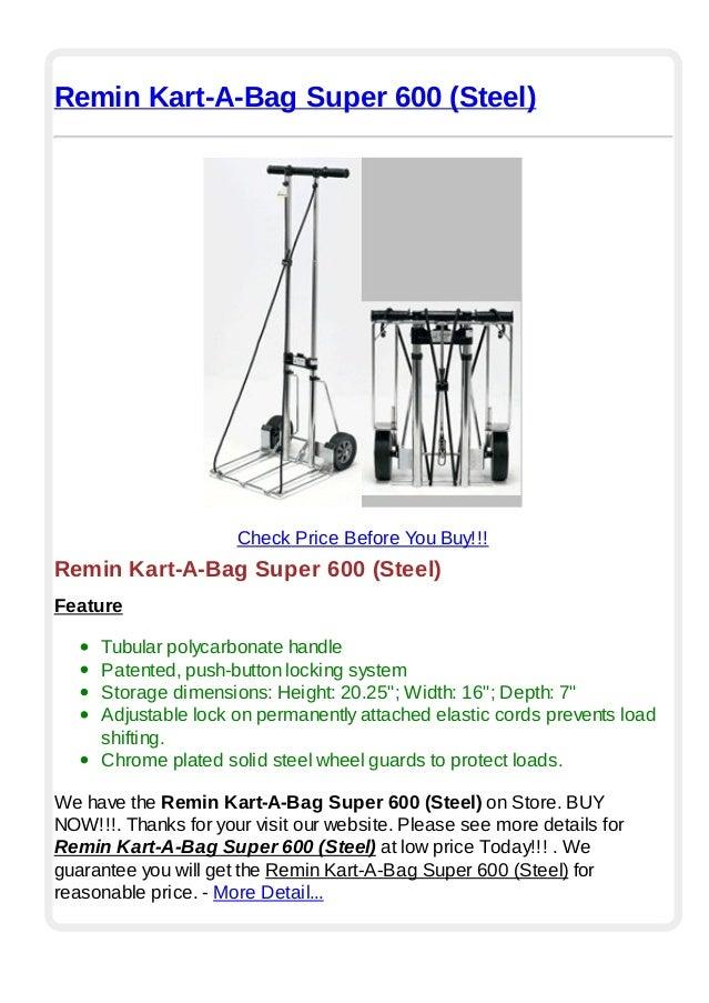 Steel Remin Kart-A-Bag Super 600