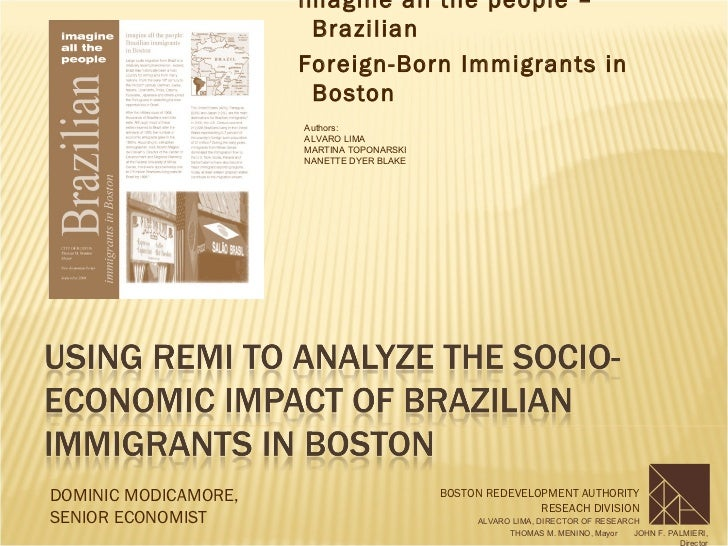 imagine all the people –                       Brazilian                      Foreign-Born Immigrants in                  ...