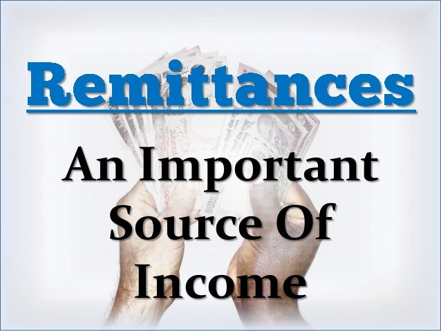 An Important Source Of Income