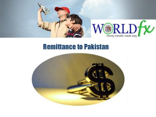 Remittance to Pakistan