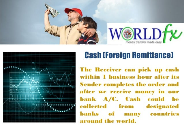 The Receiver can pick up cash within 1 business hour after its Sender completes the order and after we receive money in ou...