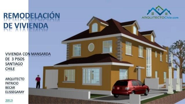 Remodelaciones de casas casa estilo frances for Remodelacion de casas pequenas fotos