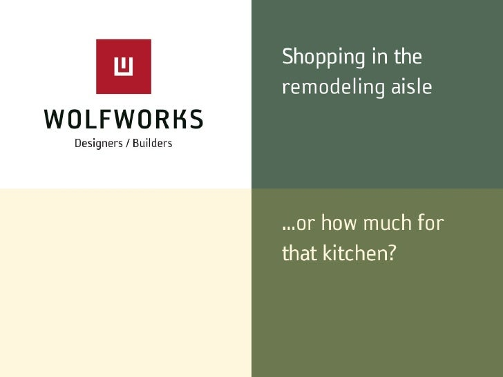 Remodeling Budget Think