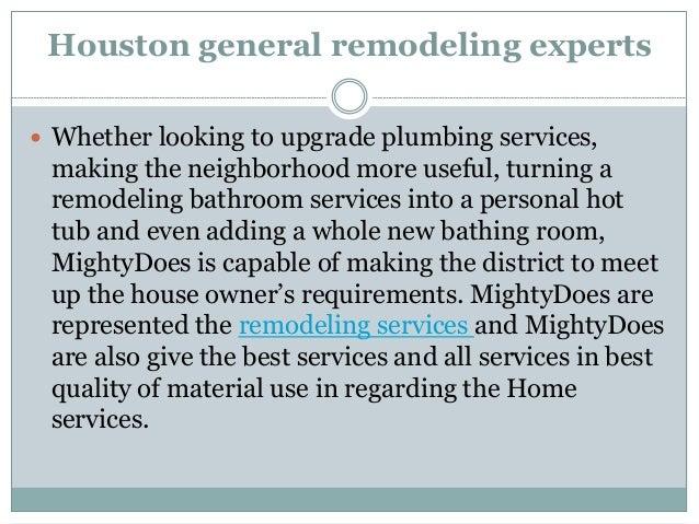 Remodeling services houston Slide 3